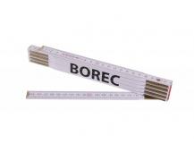 Skládací 2m BOREC (PROFI, bílý, dřevo)