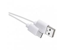 USB kabel 2.0 A/M - C/M 0,2m bílý