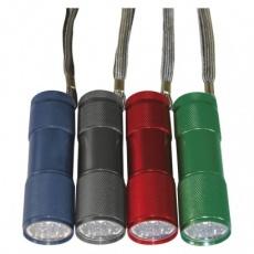 LED ruční kovová svítilna P3848A, 50 lm, 3× AAA, 24 ks - 24ks