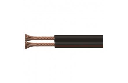Dvojlinka ECO 2x1,5mm, černo/rudá, 100m - 100m