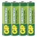 Zinková baterie GP Greencell AAA (R03) - 4ks