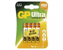 Alkalická baterie GP Ultra AAA (LR03) - 8ks