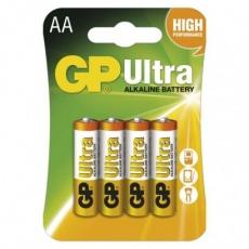 Alkalická baterie GP Ultra AA (LR6) - 4ks