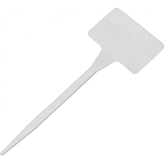Jmenovka zapichovací SL 135 bílá 15x5,5x3,5 cm rovná