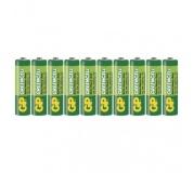 Zinková baterie GP Greencell AA (R6) - 10ks