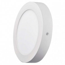 LED panel 170mm, kruhový přisazený bílý, 12W neutrální bílá