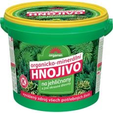 Hnojivo na jehličnany a okrasné dřeviny - 5 kg kbelík