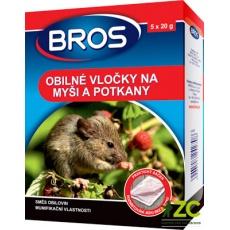 Bros - obilné vločky na myši, krysy a potkany 100 g