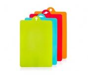 BANQUET Sada plastových prkének CULINARIA, 4 ks, mix barev