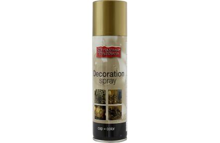 Dekorace - barva zlatá sprej 150 ml