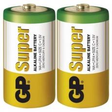 Alkalická baterie GP Super C (LR14) - 2ks
