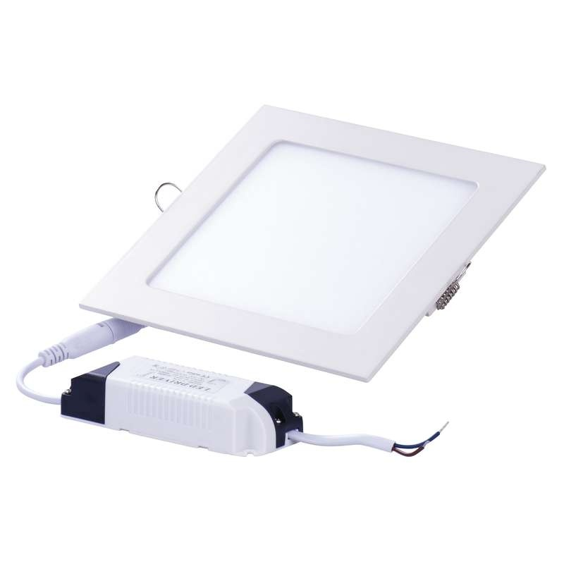 LED panel 120×120, vestavný bílý, 6W neutrální bílá