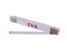 Skládací 2m EVA (PROFI, bílý, dřevo)
