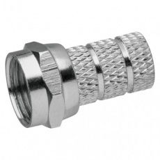 Konektor F vidlice pro koax CB500 - 10ks