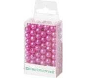 Dekorační perly - 8 mm (144 ks) světle fialové