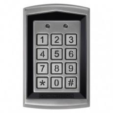 Kódová klávesnice DH16A-30DT se čtečkou RFID klíčenek,kovová