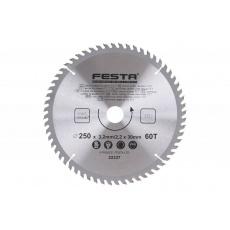 Kotouč pilový FESTA SK 250/3. 2/30mm 60T