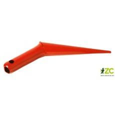Kolík sázecí kovový Rosteto - oranžová