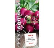 Dobrá semena Ředkvička fialová - Viola celoroční 4g