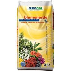 Substrát Gramoflor - Květinový s jílem 45 l