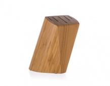 BANQUET Stojan dřevěný pro 5 nožů BRILLANTE Bamboo 22 x 13,5 x 7 cm