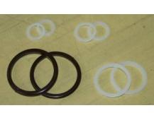 Kroužek záclon. 34/100ks UH 3000093