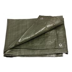 PE plachta zakrývací 10x15m 70g/1m2 zelená