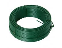 Napínací drát 3.4mmx52M zelený PVC