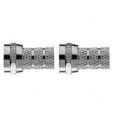 Konektor F vidlice pro koax CB500 - 2ks