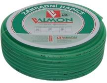 """Hadice zelená transparentní Valmon - 1/2"""", role 15 m"""