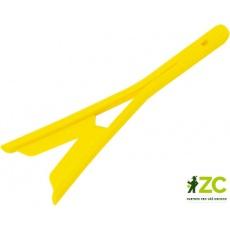 Nůžky na bylinky 14 cm - zářivě žluté