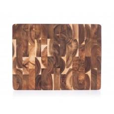 BANQUET Prkénko krájecí dřevěné BRILLANTE Acacia 40 x 30 x 3,3 cm