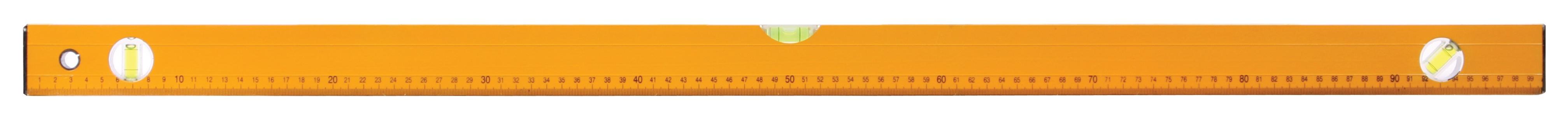 Vodováha 1000mm- zednická žlutá