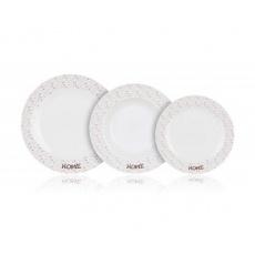 BANQUET Sada talířů HOME Coll. II, 18 ks