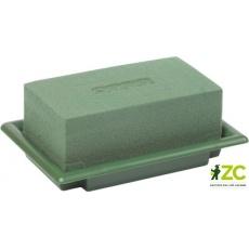 Aranžovací miska zelená malá 13,5x9x5,5 cm (Florex)