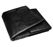 Netkaná textílie 1. 6x10M černá 50g/m2