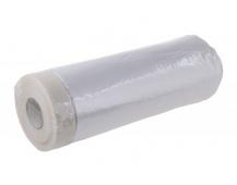 Páska maskovací samolepící s folií 210cmx15M