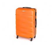PRETTY UP Kufr na kolečkách ABS29, velký, oranžový