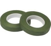 Ovinovací páska Oasis - 13 mm tmavě mechově zelená (2ks)
