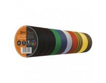 Izolační páska PVC 19mm / 20m barevný mix