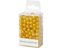 Dekorační perly - 8 mm (144 ks) žluté