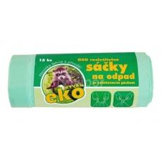 Sáček do koše s páskou LDPE 35l EKO