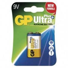 Alkalická baterie GP Ultra Plus 9V (6LF22)