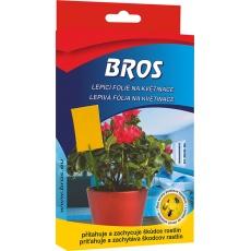 Bros - lepové desky do květináčů 10 ks