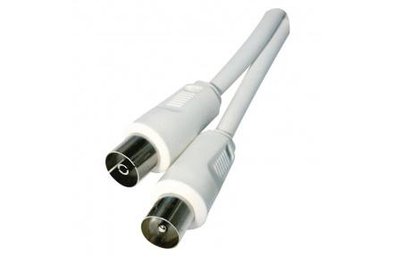 Anténní koaxiální kabel stíněný 15m - rovné vidlice