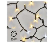 Profi LED spojovací řetěz problikávající 10m, t./s. bílá