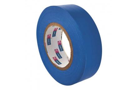 Izolační páska PVC 19mm / 20m modrá - 10ks