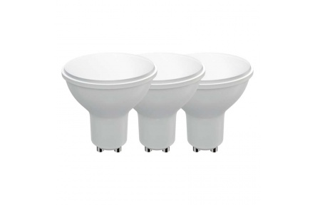 LED žárovka Classic MR16 4,5W GU10 teplá bílá - 3ks