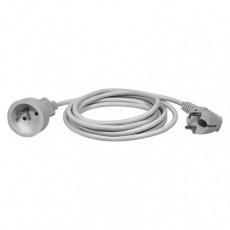 Prodlužovací kabel – spojka, 7m, bílý