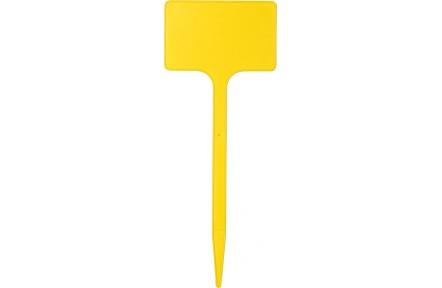 Jmenovka zapichovací SL 200 žlutá  20x8x5 cm rovná